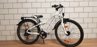 Kindervelo kaufen: MUSTANG Trailchecker 24 Occasion