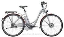 e-Bikes Citybike FLYER T8 DELUXE 13, M, ALU SB SCHWARZ
