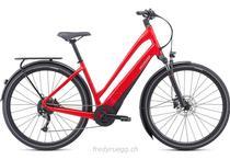 e-Bikes Citybike SPECIALIZED COMO 3.0 700C LOW ENTRY L ROT SCHWARZ