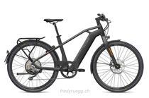 e-Bikes Citybike FLYER UPSTREET6 7.10 HERREN HS M SCHWARZ