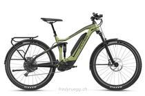 e-Bikes Mountainbike FLYER GOROC4 6.50 FS L OLIVE METALLIC