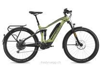 e-Bikes Mountainbike FLYER GOROC4 6.50 FS HS M OLIVE SCHWARZ